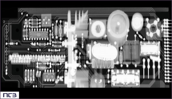 NTB X-Ray   X-ray images of electronic components